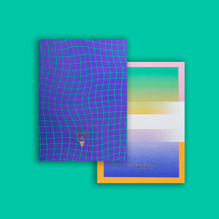 Pure 90s Vibes with the Super Collection Notebooks for Write Sketch &