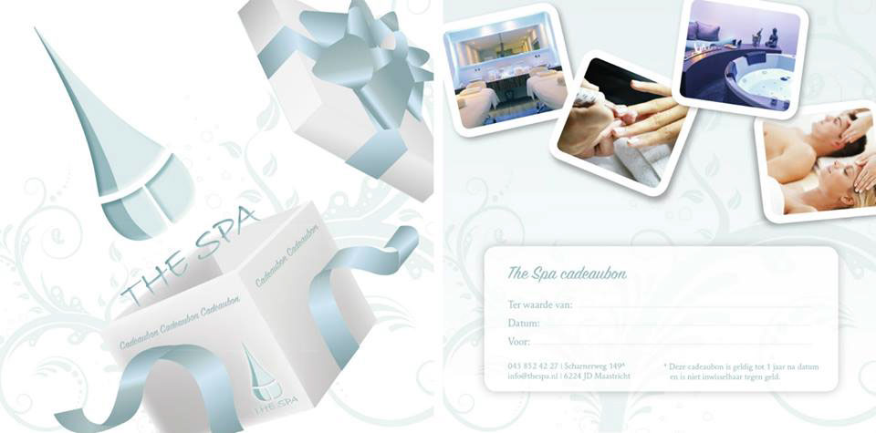 The Spa the Spa beauty Poster Design mailchimp newsletters gift cards