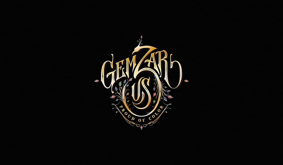 logo lettering dalibass Logotype Custom hand drawn vintage Custom Lettering typography