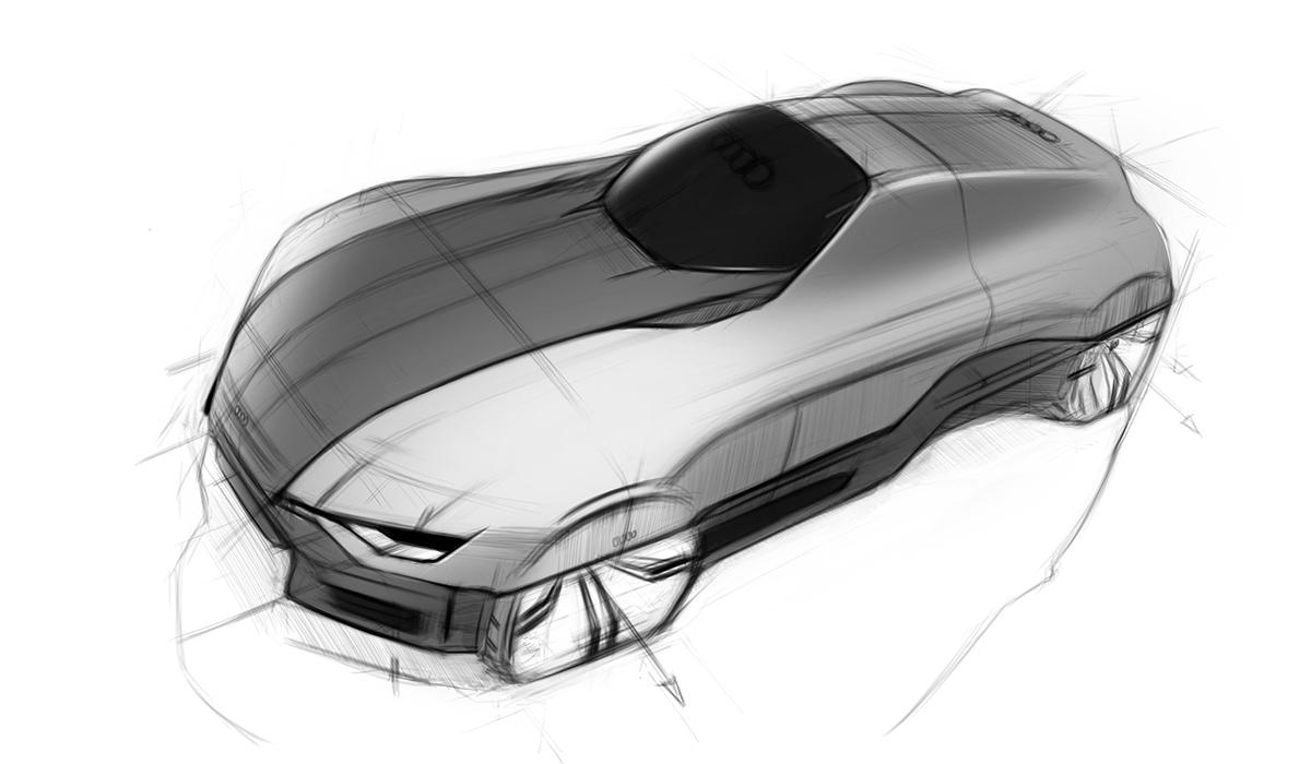 Audi A W Sketch On Behance
