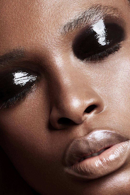 beauty Fashion  makeup dubai chernih mmg model editorial freckles retoucher