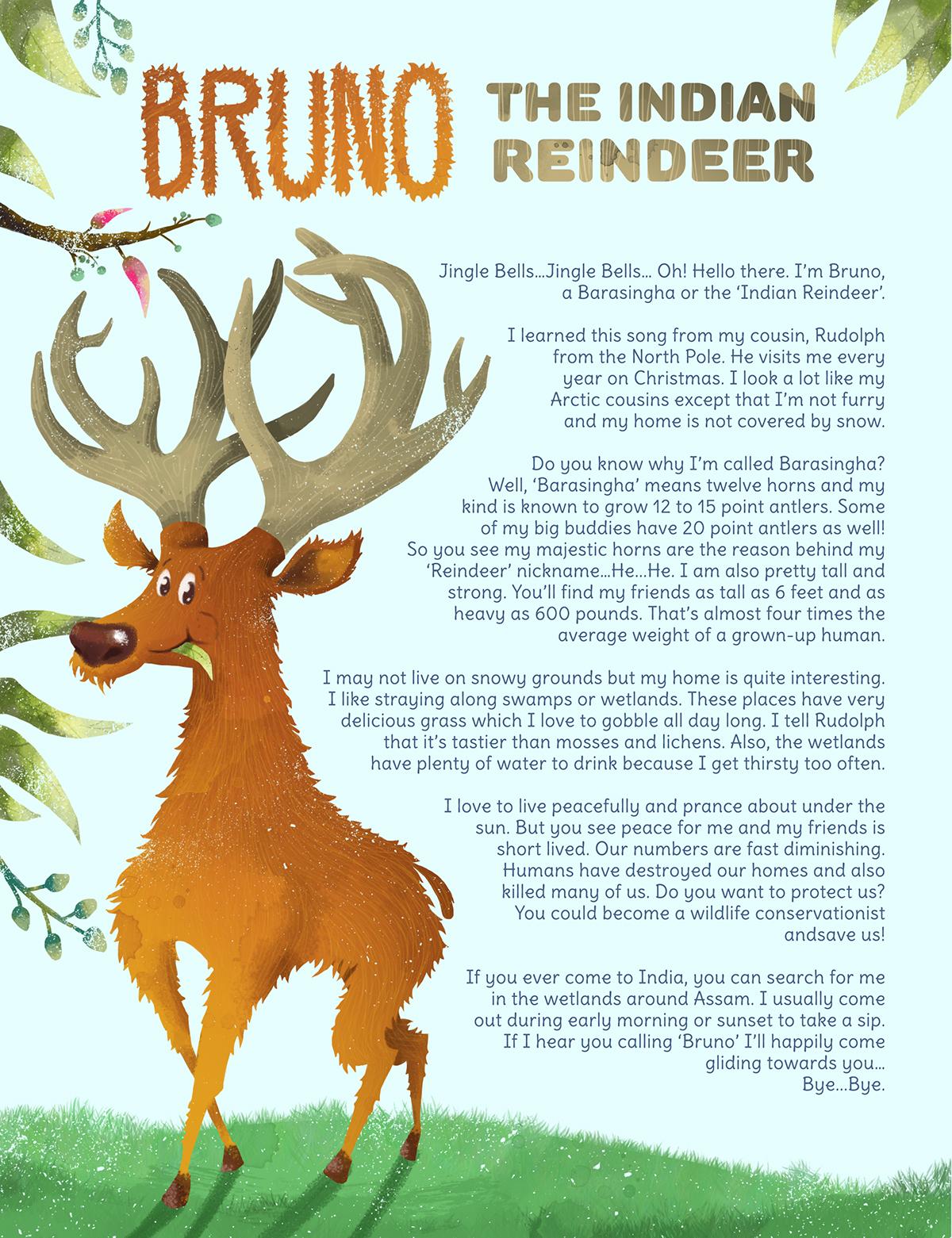 Bruno - The Indian Reindeer! on Wacom Gallery