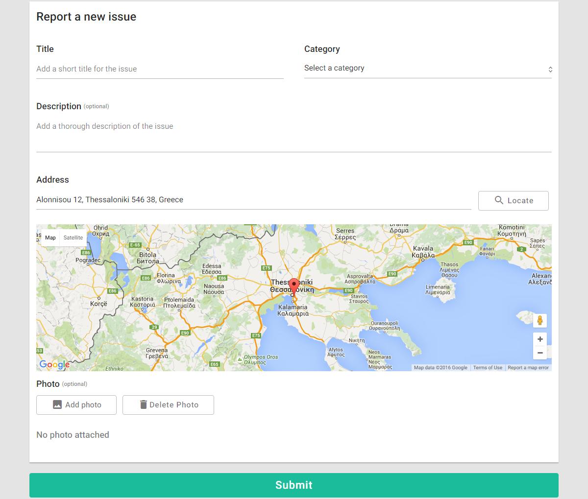 Improve My City WordPress plugin