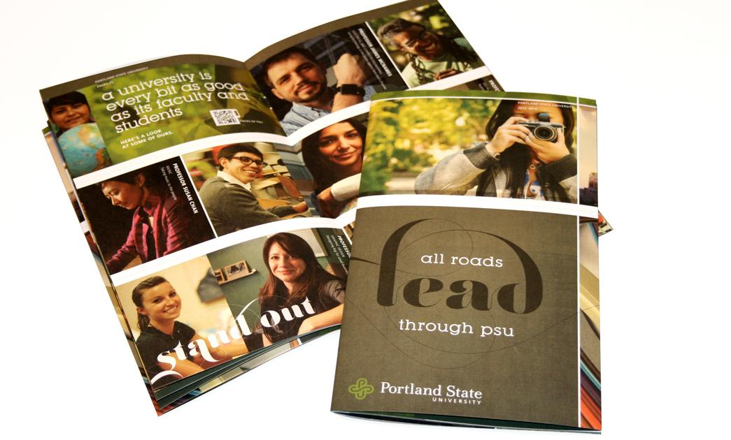 Portland State University Identity Web Portal On Behance