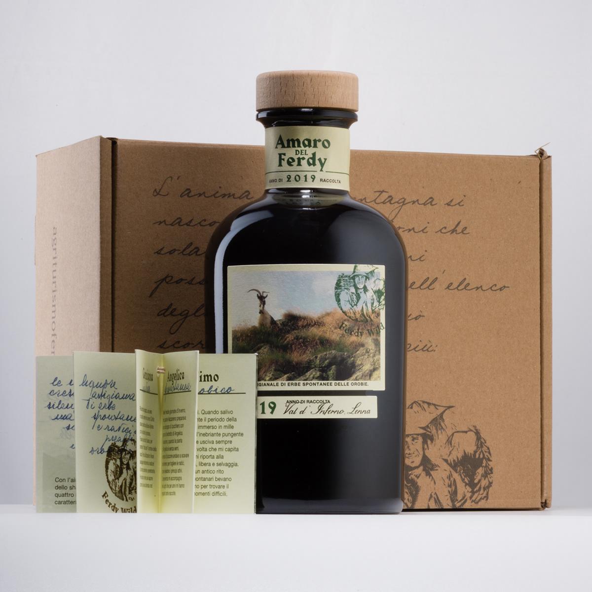 Liqueur spirit Packaging herbs