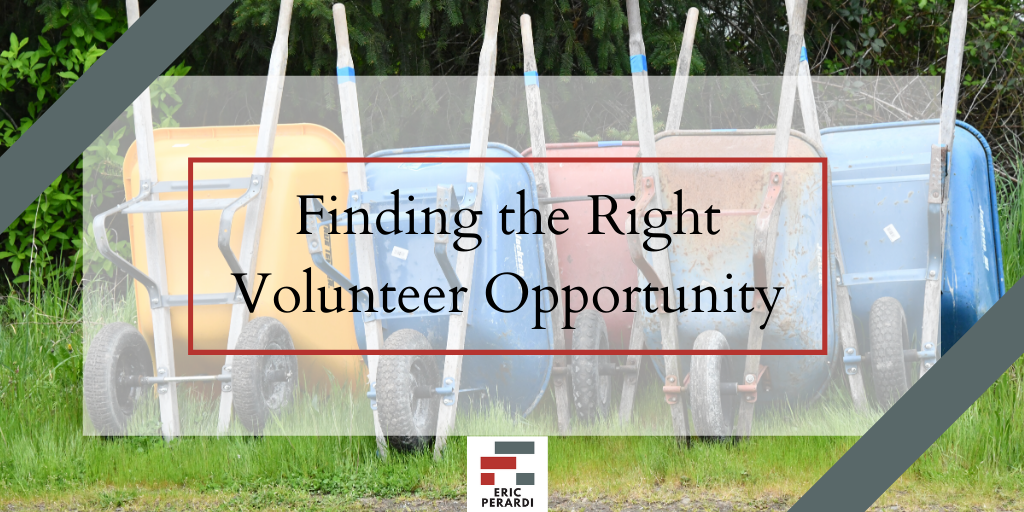 volunteer writing  Blog eric perardi