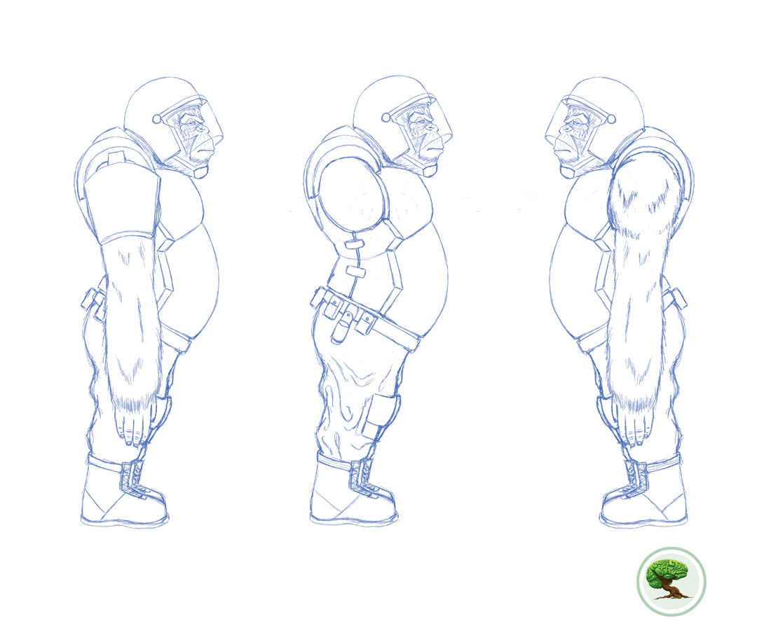 ilustracion diseño de personajes