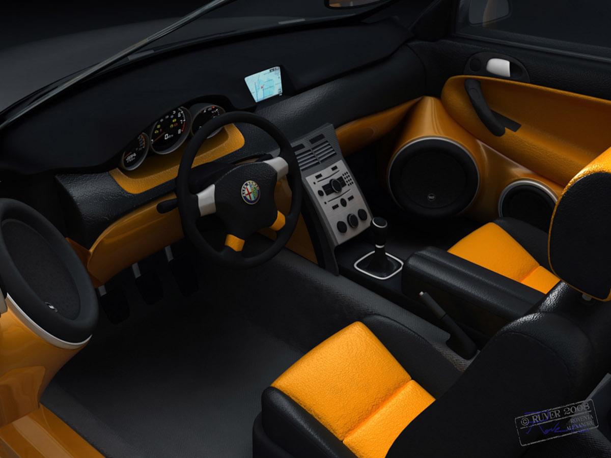 alfa romeo 147 gta roventa alexandru ruver design 3D 3ds 3ds max 3d max vray automotive   car