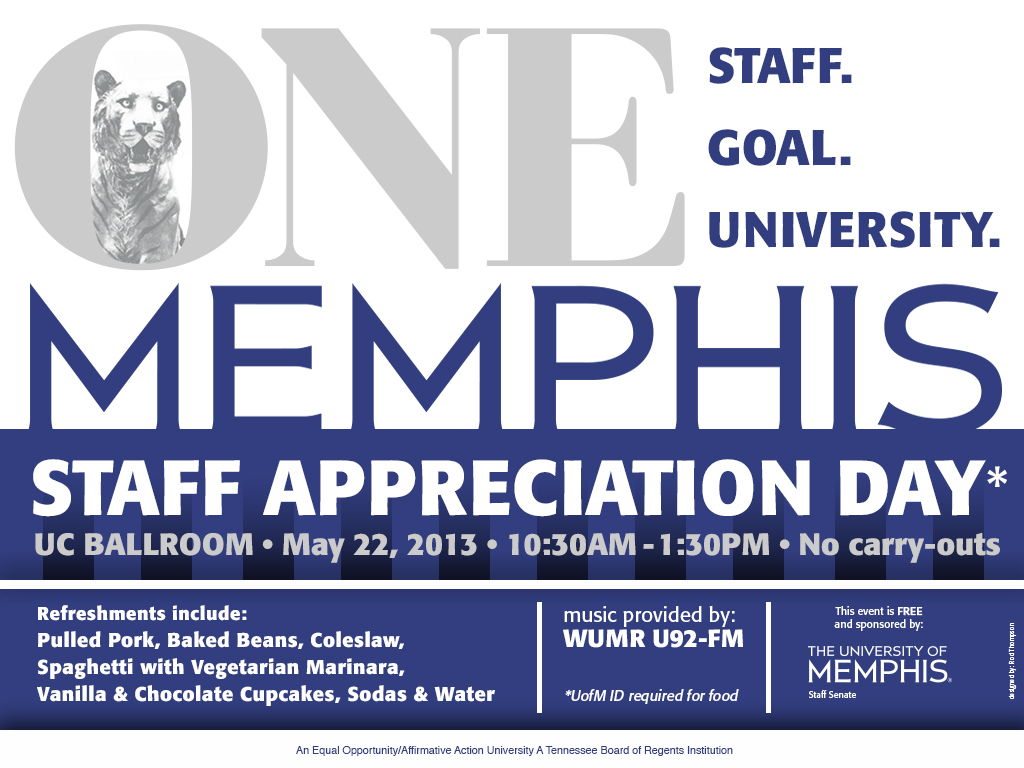 staff appreciation flyer
