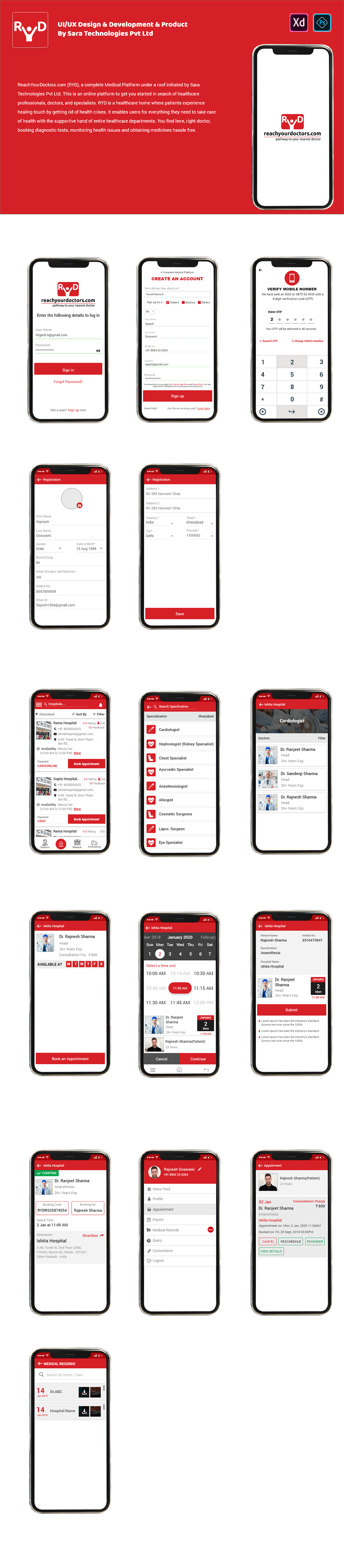This App Design By Me With Working Sara Technologies Pvt Ltd. This is an online platform.