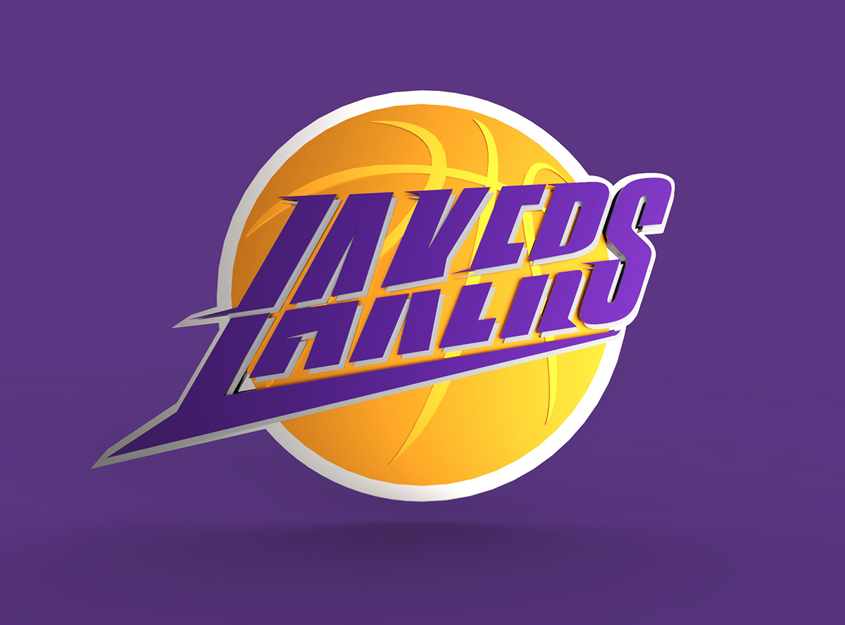 LA Lakers logo on Behance