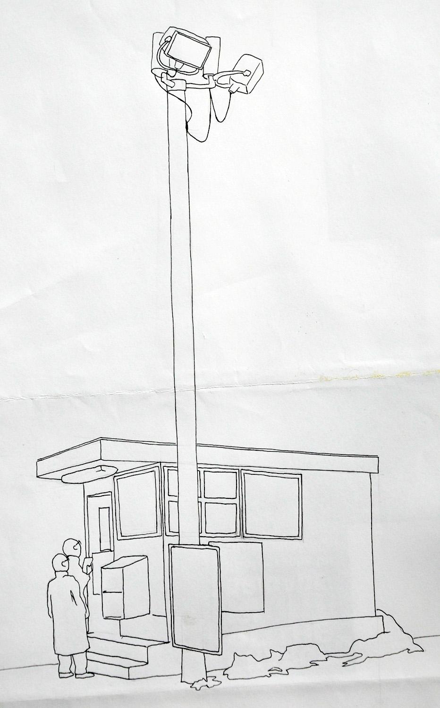 comics Character cartoon pen and paper