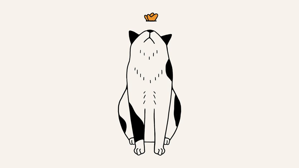 Image may contain: cartoon, animal and drawing