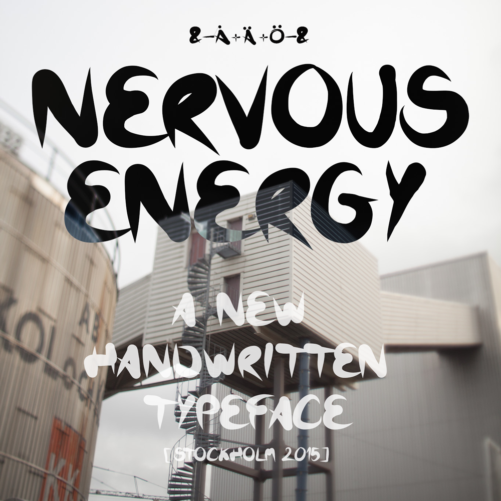 Nervous Energy Font Free Download