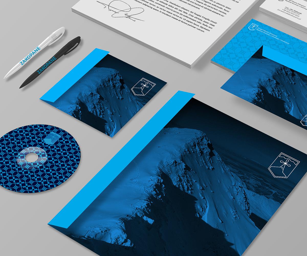zakopane  Dublin  ireland  WINTER  poland  Giewont  Tatry  mountains olympic  logo rebranding city award Freelance