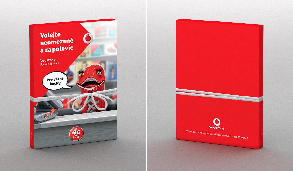 Vodafone [Packaging / Brochure] on Behance