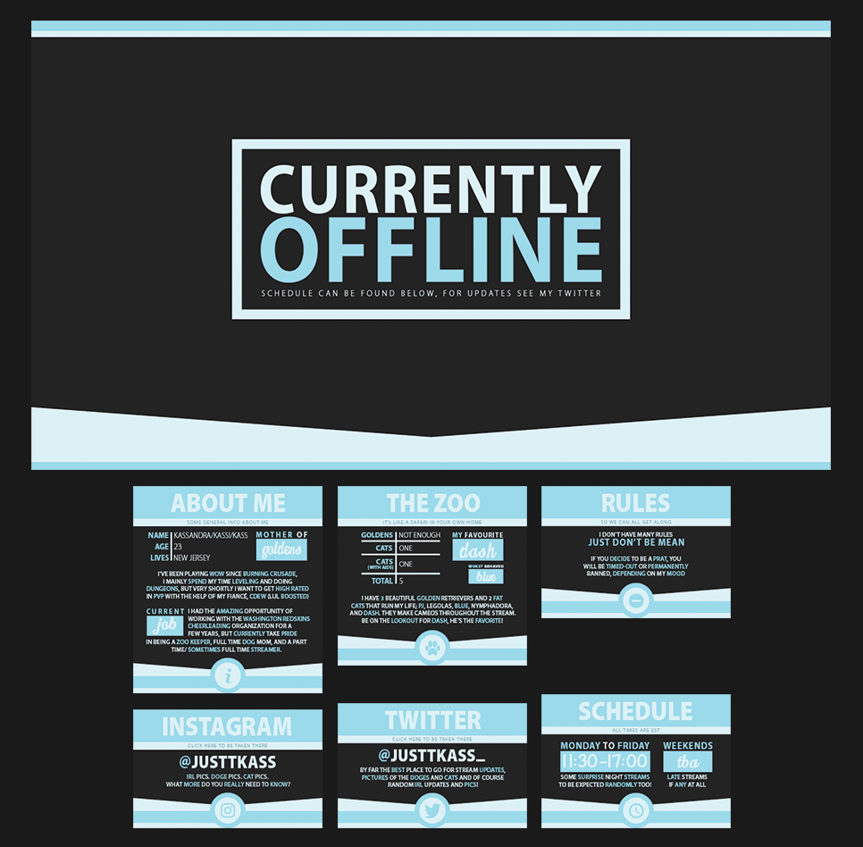 Twitch Packages on Behance