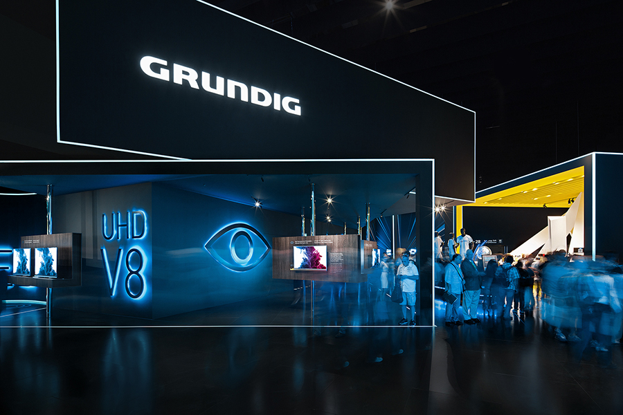 grundig consumer electronics ifa 2014 on behance. Black Bedroom Furniture Sets. Home Design Ideas