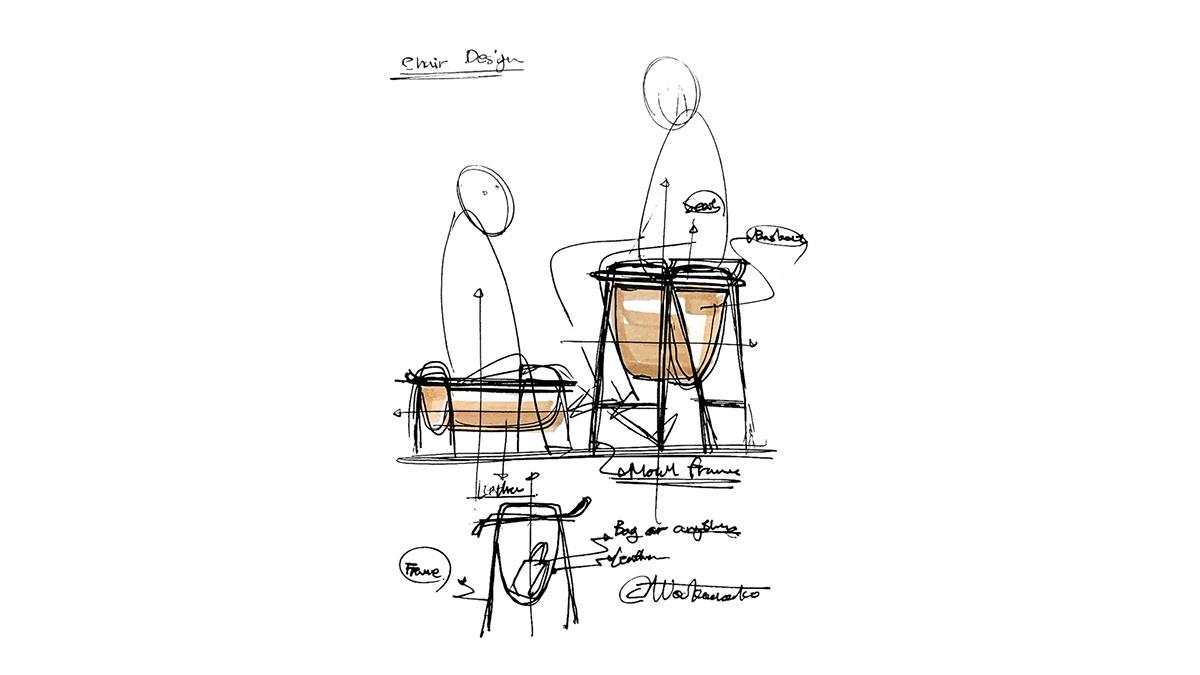 Bar chair chair design concept furniture design studio furniture design  product design