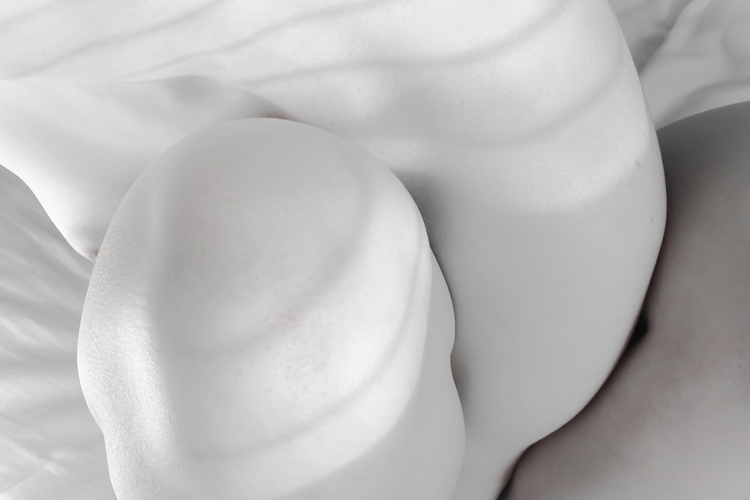 nude pale body light shadow White grey elegance