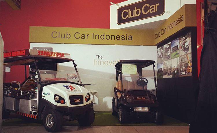 club car indonesia Exhibition Design  interior design