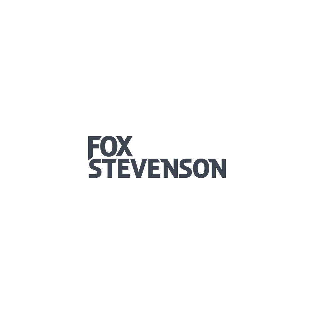 FOX producer UK face Unique mark Icon symbol electronic music negative space minimal simple