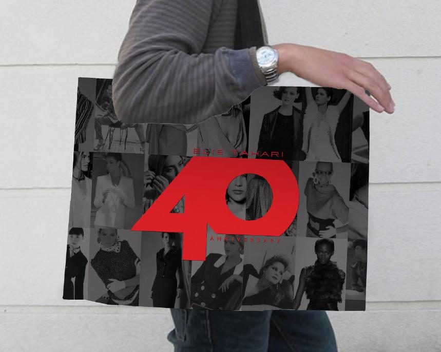 ELIE TAHARI Logo Design 40th anniversary