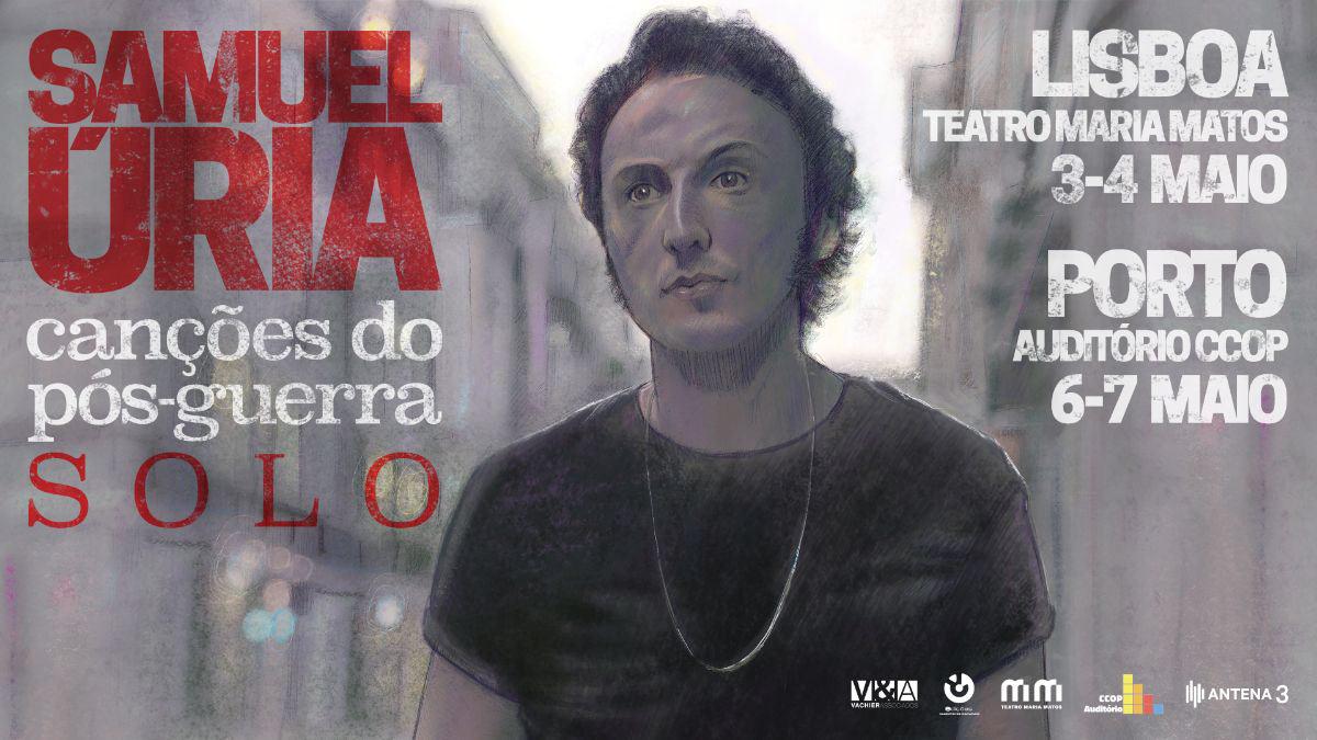 SAMUEL ÚRIA leva Canções do Pós-Guerra a Lisboa e ao Porto