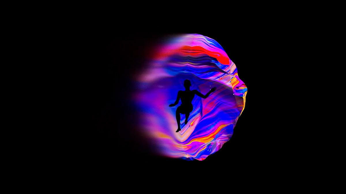 Adobe Remix Baugasm adobe adobe sensei animation  gradient Space  abstract