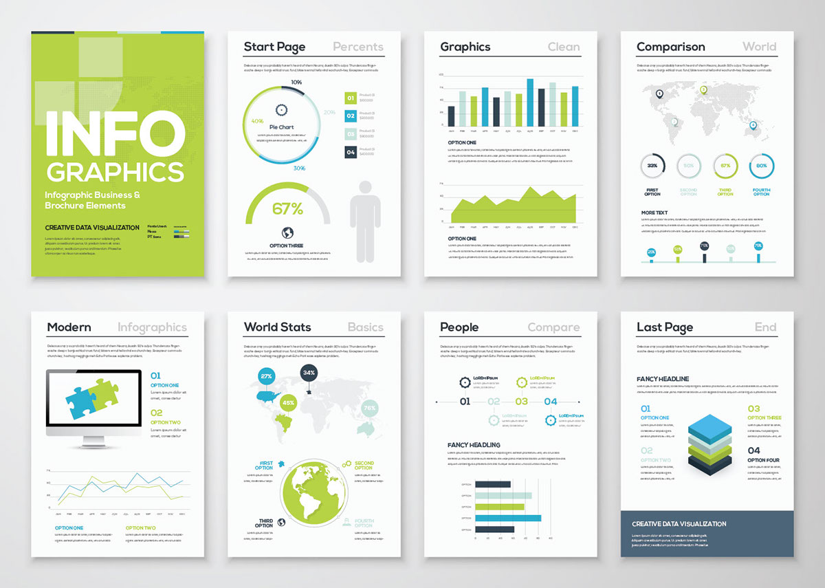 free freebie infographic infographics template brochure a4 inspiration creative Illustrator ai download graph info graphic