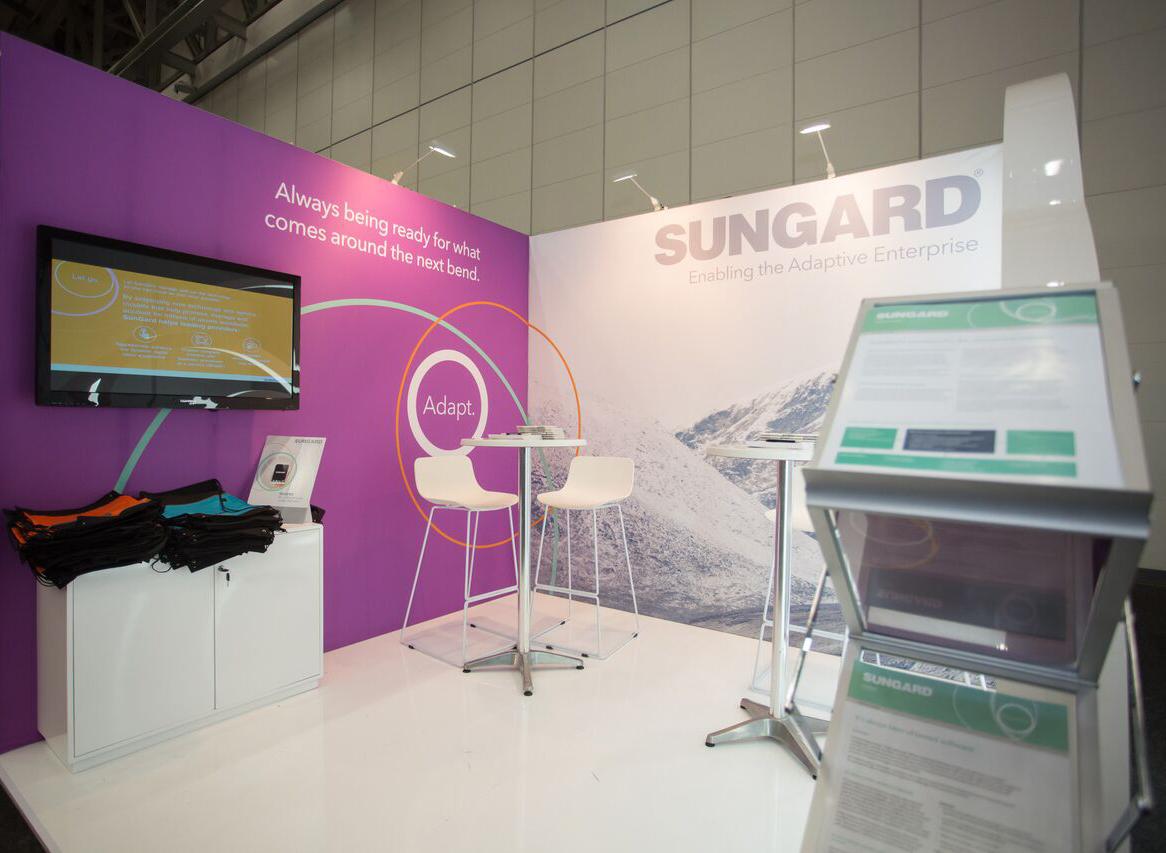 Sungard Exhibition Stand Near Me : Sungard irfa at cticc xzibit on behance