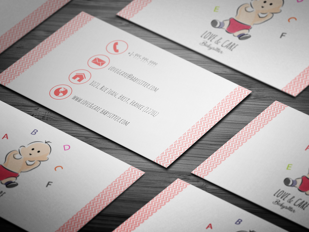 10+ FREE Babysitting Business Card Templates on Student Show