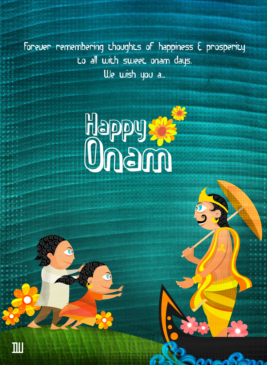 Onam Greetings On Behance