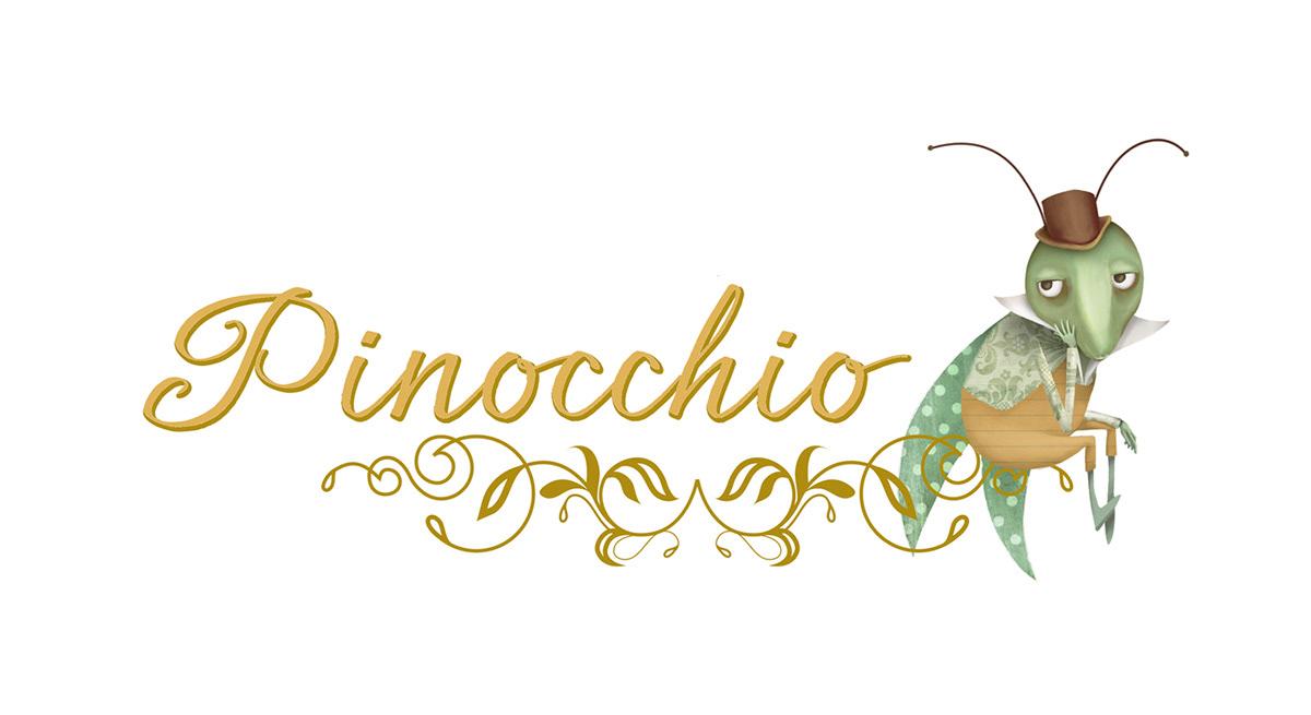 SurfacePattern patterndesign pattern pinocchio Geppetto mangiafuoco grilloparlante Fata Turchina