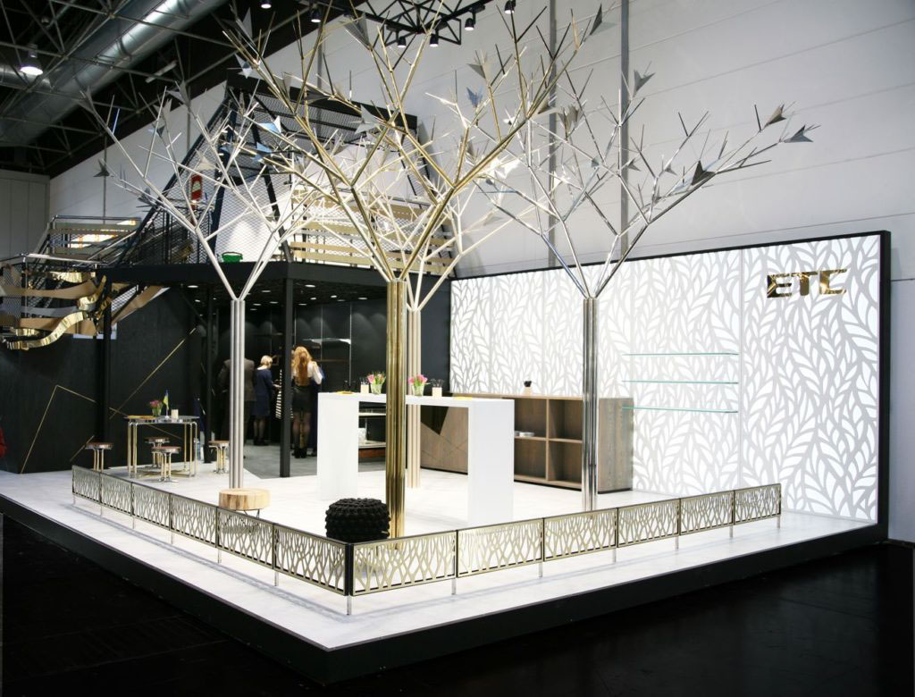 Exhibition Stand 2017 : Euroshop exhibition stand of etc on behance