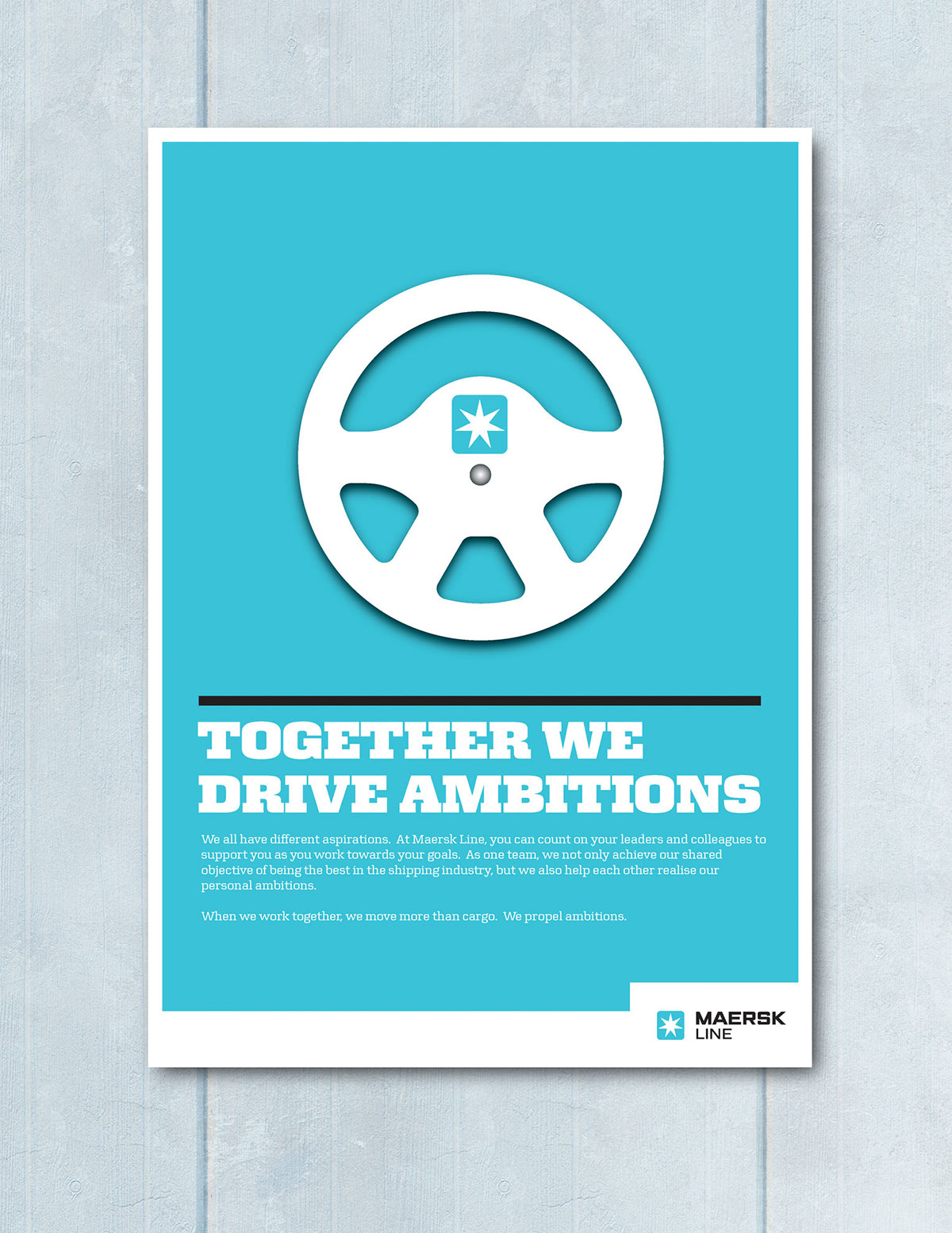 Maersk Line: HR Posters on Behance