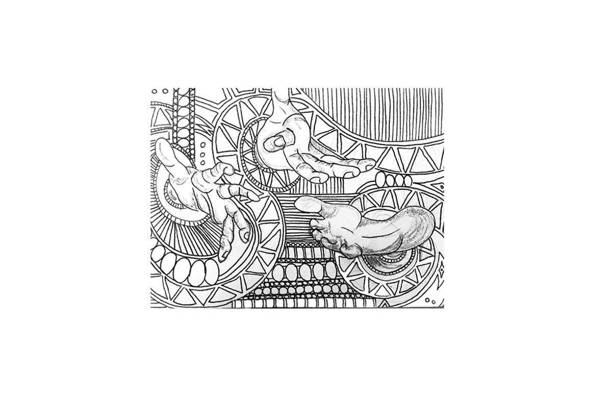ILLUSTRATION  sketching sketchbook pen pencil lines drawings