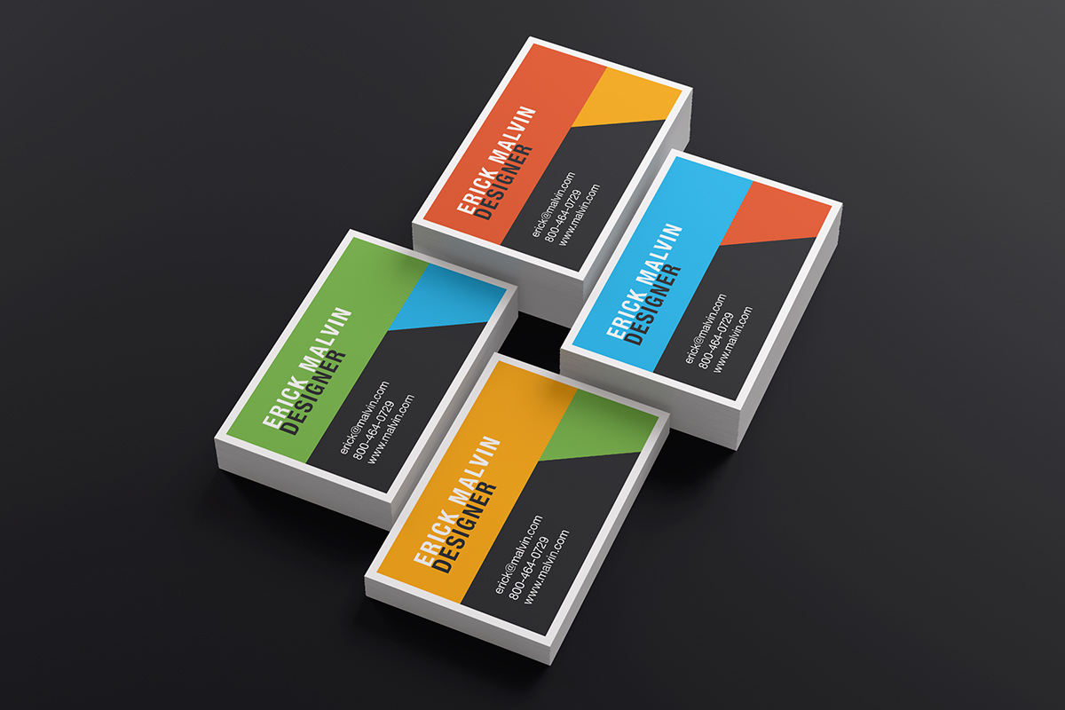 Business cards mock up 85x55 cm on behance more details download reheart Gallery