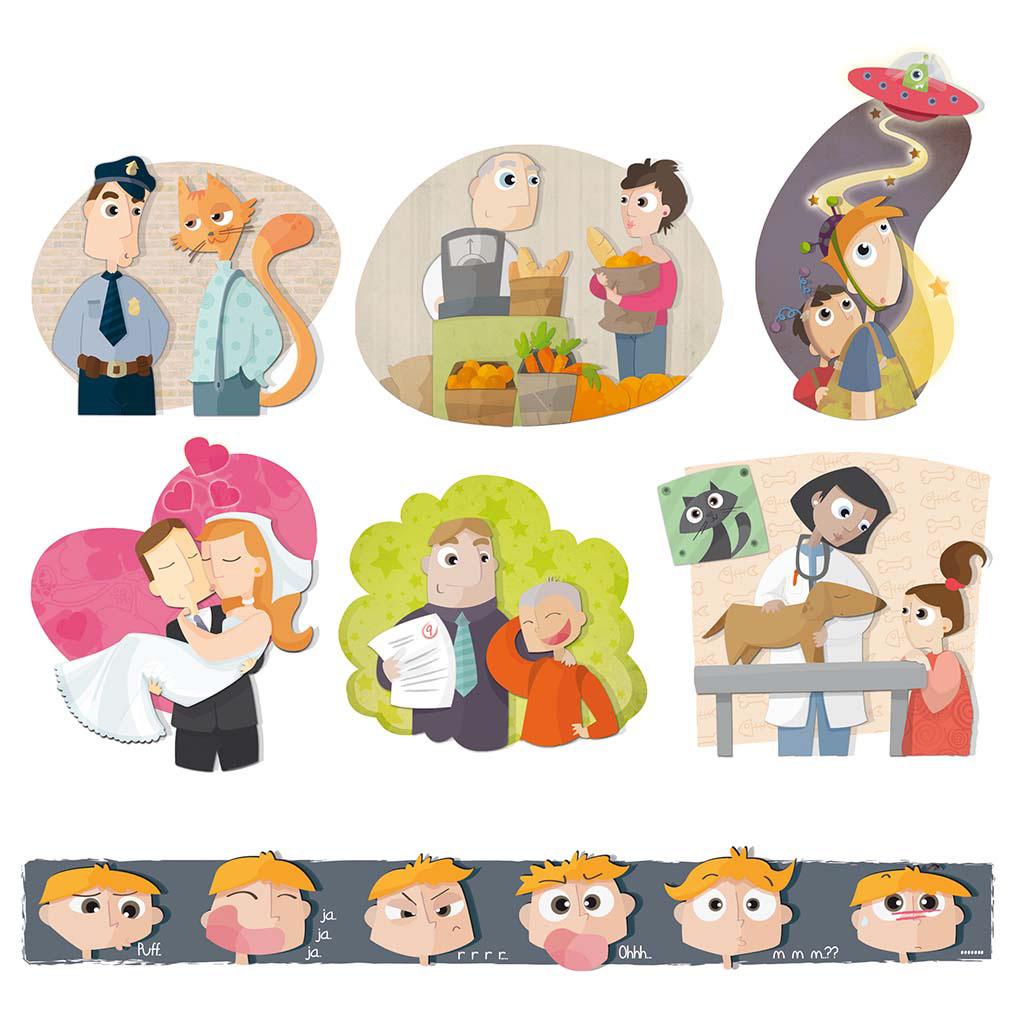 ilustracion libros de texto educación primaria editorial ilustración infantil