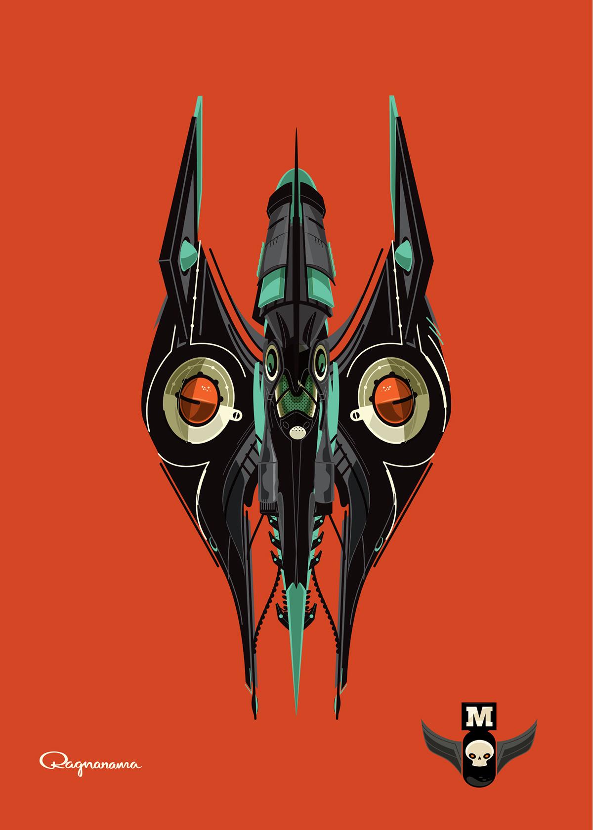 Big City ragnar Ragnarama concept design Sci Fi space adventure