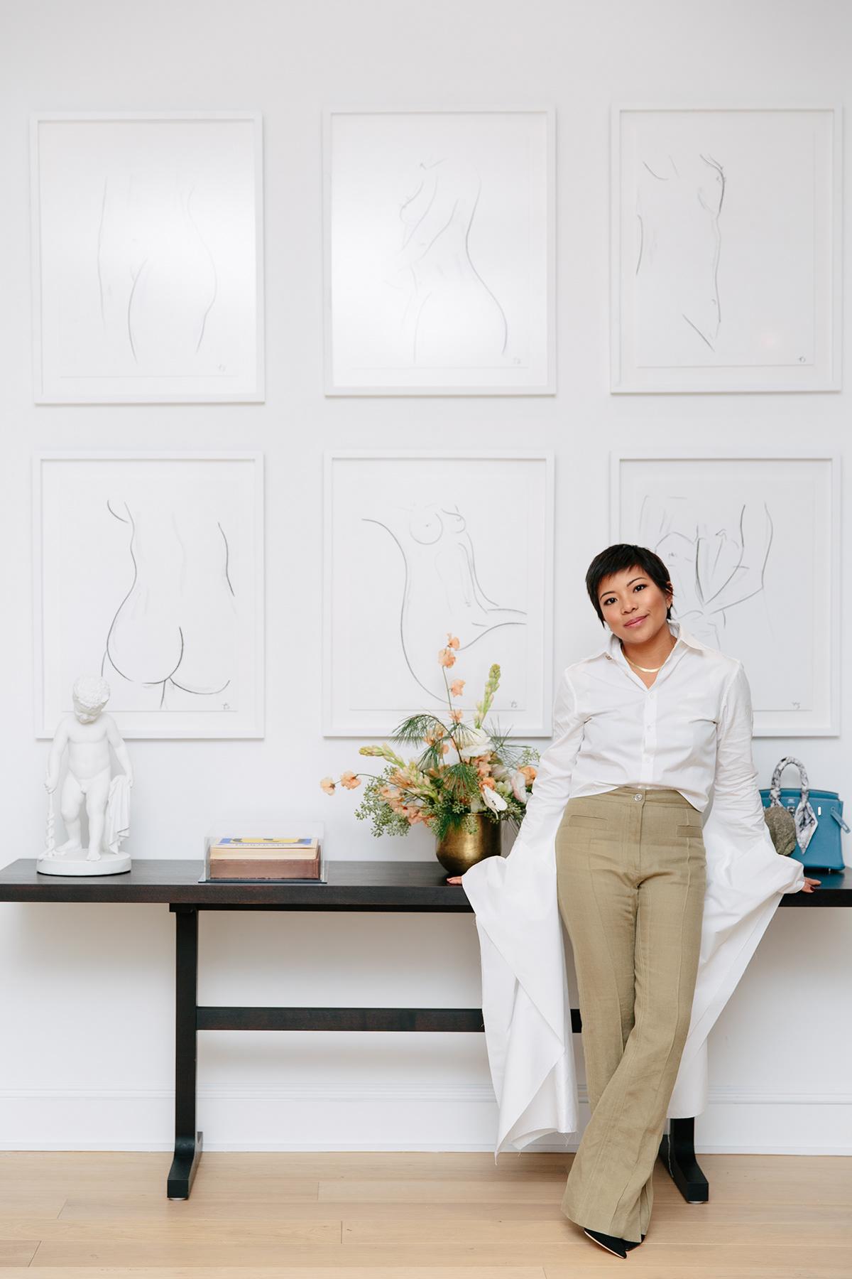 away Jennifer Rubio vogue portrait