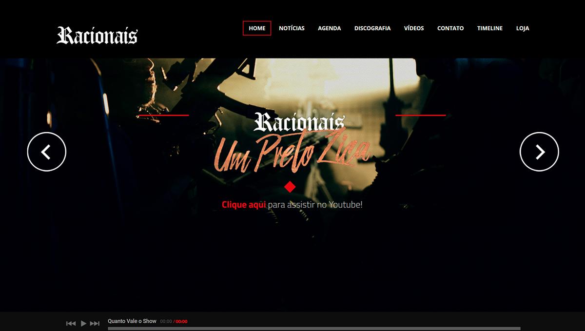 Racionais (Site Oficial)
