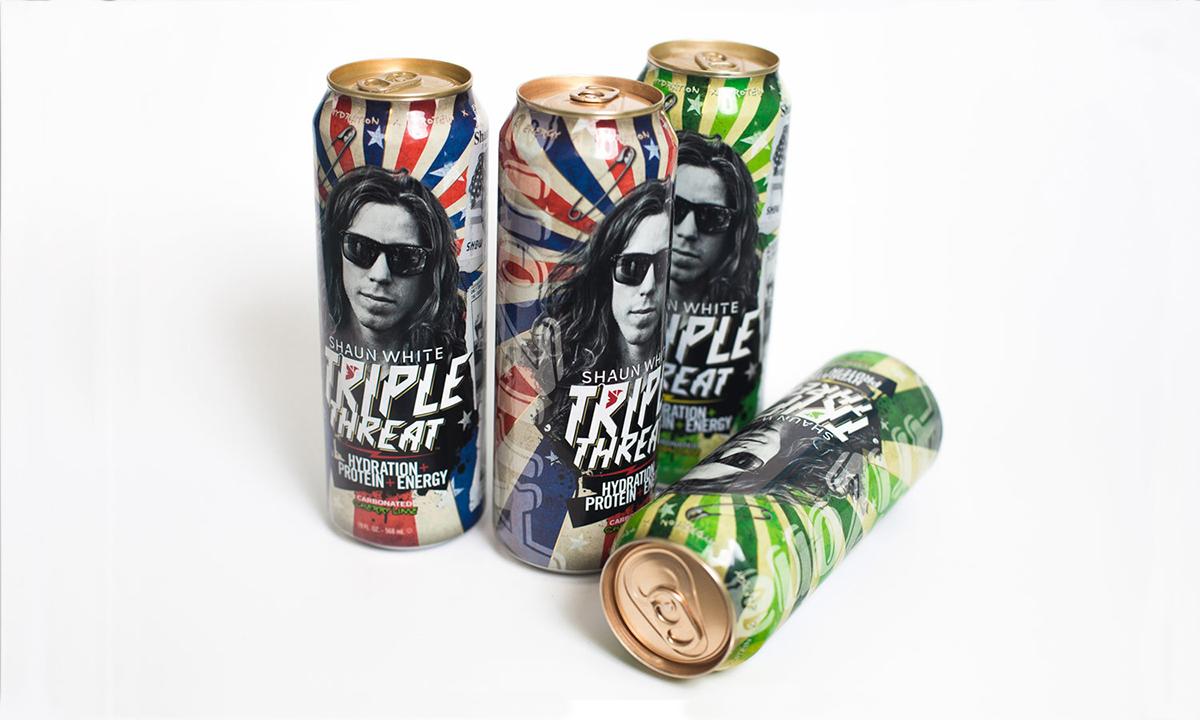 Shaun White,Mpire,Can Design,Arizona Beverages,product development,logo,print,campaign,concept,art