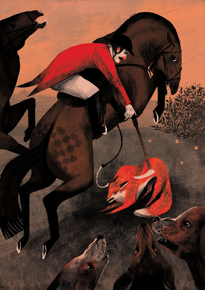 fox hunt FOX Hunting horse and hound editorial