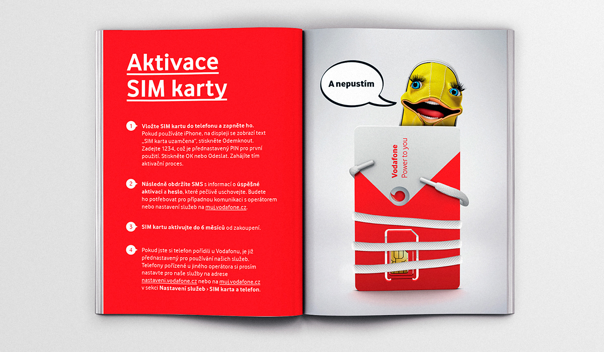 Vodafone Packaging Brochure On Behance