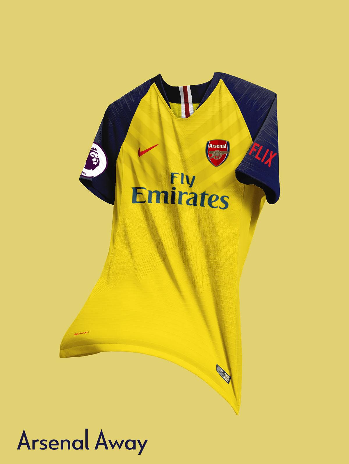 promo code 1de19 3378f Arsenal FC Nike Concept Kits | 2019-2020 on Behance