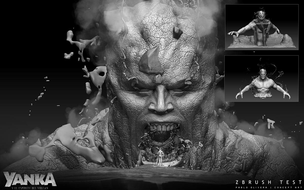 Creature Design Yanka Movie 2018 On Wacom Gallery