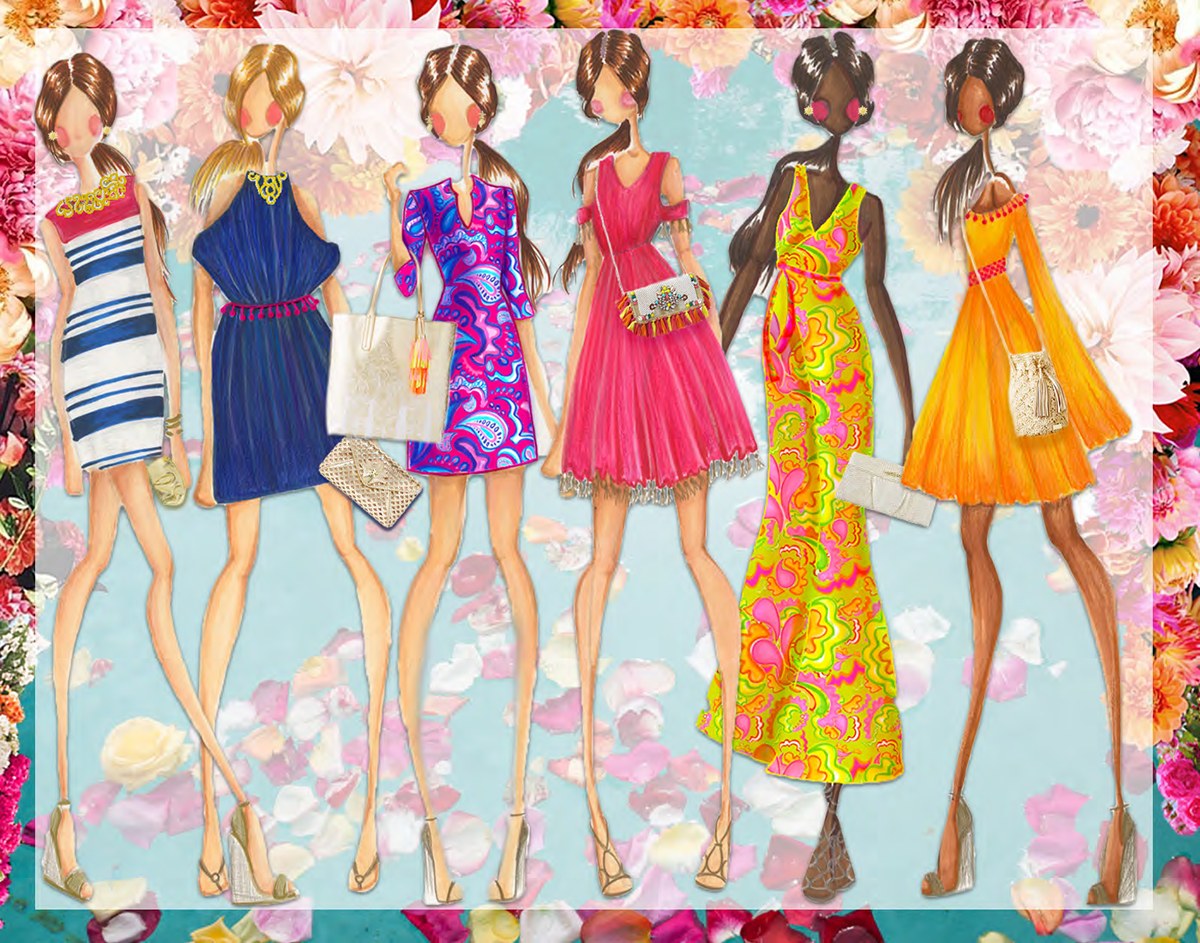 Lilly Pulitzer Fashion Design Internship Project On