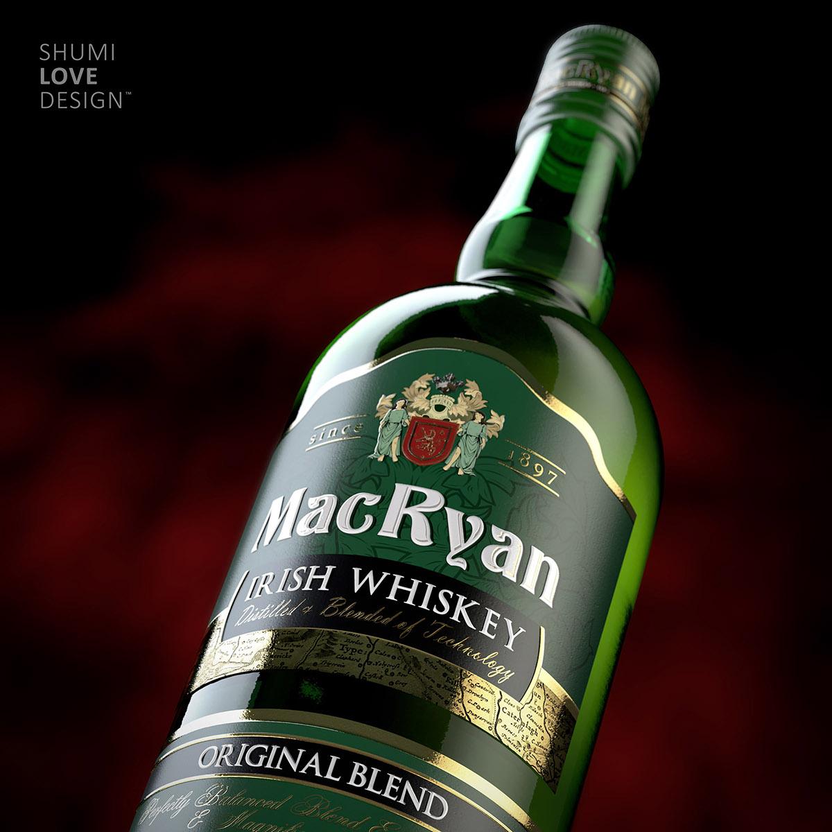 Label label design shumilov Sumilov shumi shumilovedesign Whiskey