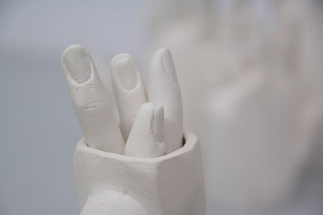 art arte ceramica ceramics  Escayola escultura